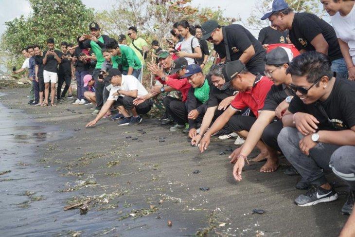 ST Tunas Muda Denpasar lepas 70 tukik