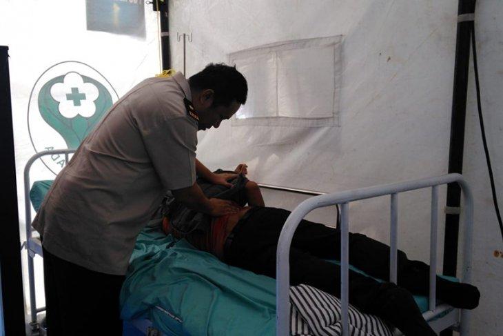 Posko Kesehatan Merak rujuk delapan pemudik ke RS