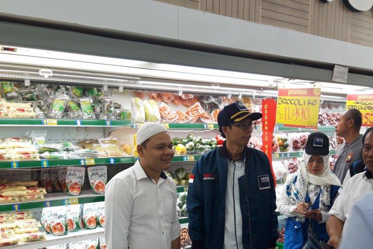 Kemendag  harga bahan kebutuhan pokok jelang Lebaran di Ternate stabil