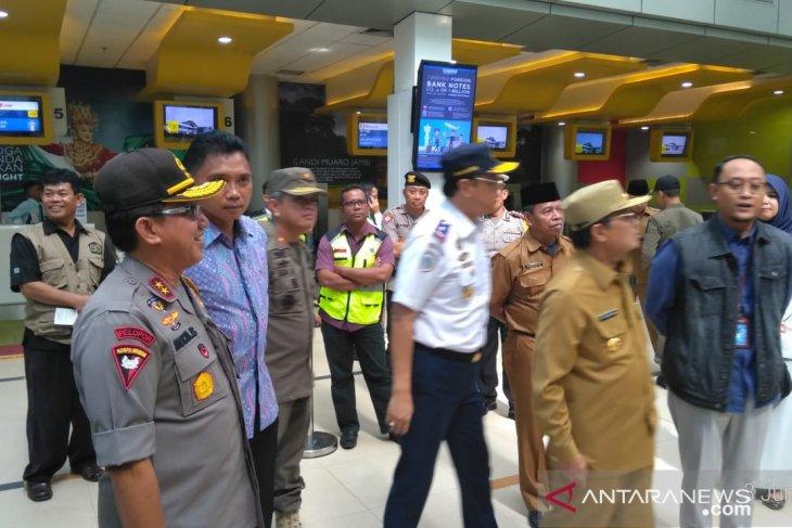 Arus mudik melalui bandara Sultan Thaha Jambi turun