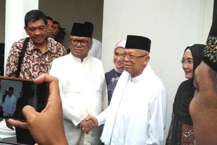Ma'ruf Amin berharap tokoh nasional warisi jiwa negarawan