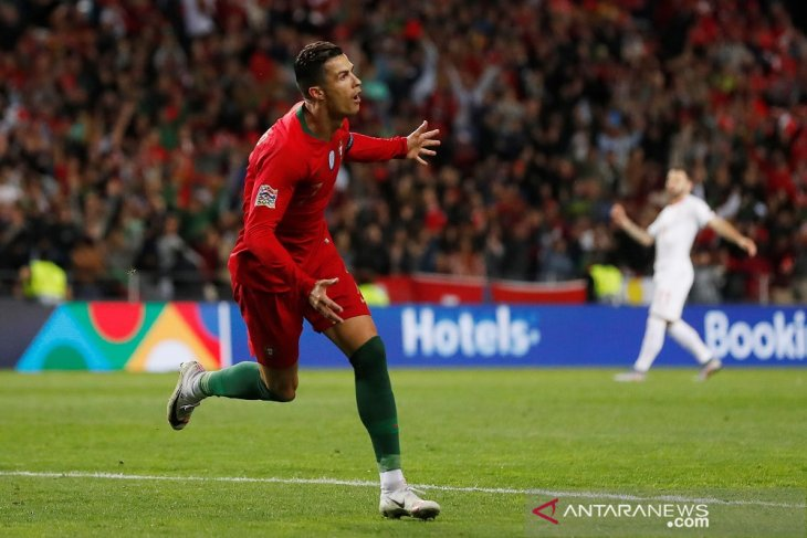 Trigol Ronaldo antar Portugal ke final UEFA Nations League