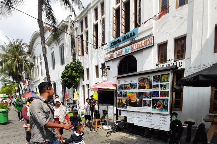 Exploring Jakarta's Kota Tua tourist attraction during Eid holidays