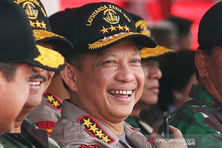 Kapolri 45.000 personel terus siaga hingga penetapan KPU