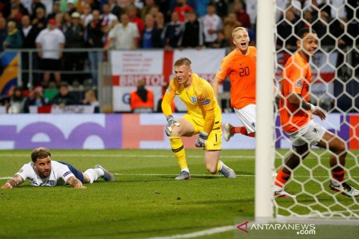 Belanda ke final usai tundukkan Inggris 3-1
