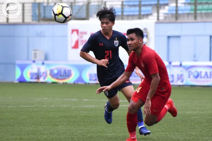Indonesia ungguli Filipina 1-0 babak  pertama