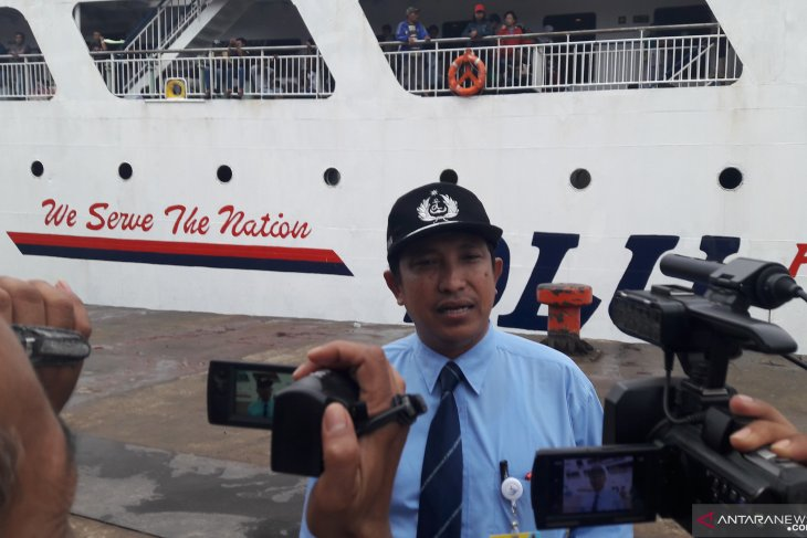 KM Satya Kencana lll angkut 700 penumpang arus balik