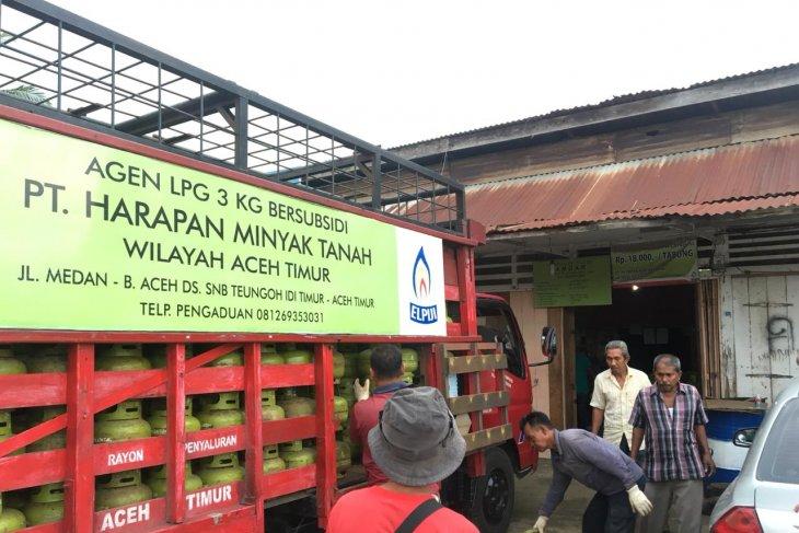 Pertamina tambah elpiji subsidi di Aceh usai Lebaran