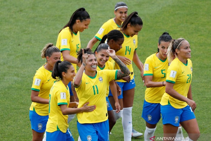 Trigol Cristiane pastikan  kemenangan 3-0 Brasil atas Jamaika