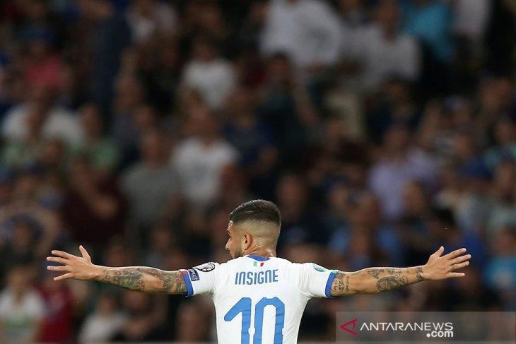 Italia permalukan Yunani 3-0 di kualifikasi Piala Eropa 2020