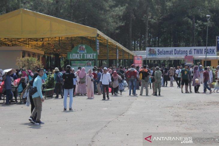 Pengunjung wisata di Puncak Bogor melonjak lima kali lipat
