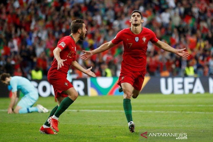 Portugal juarai UEFA Nations League setelah kalahkan Belanda