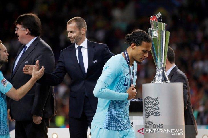 Tim Belanda kecewa kalah di final Nations League, berikut komentar pemain