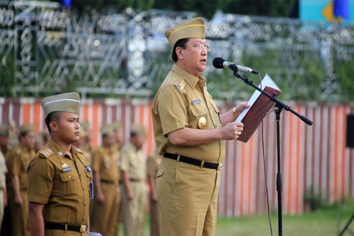 Pj. Gubernur Lampung Boytenjuri Sampaikan Selamat Idul Fitri