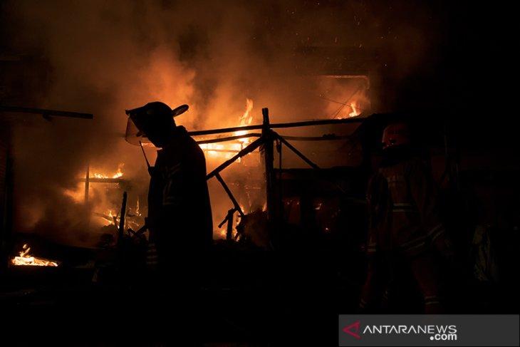 Kebakaran pasar Ujungberung Bandung