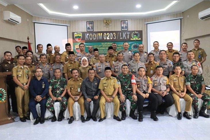Wali kota Binjai hadiri halal bihalal Kodim 0203 Langkat