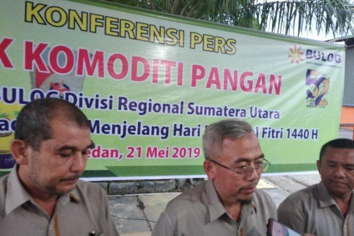 Bulog Sumut jamin stok bahan pokok aman pascaLebaran 2019