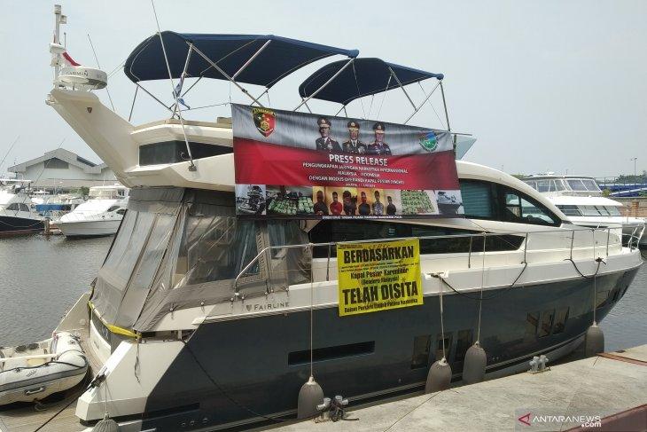 37 kg sabu-sabu disita Bareskrim dari kapal pesiar berbendera Malaysia