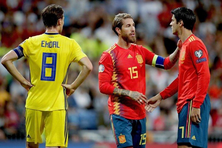 Sergio Ramos akan bela Spanyol di Olimpiade Tokyo 2020