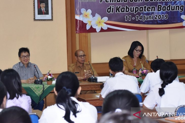 70 pelajar SMK Badung ikuti pelatihan wirausaha pemula