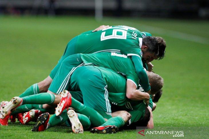 Irlandia Utara dan Jerman belum terkalahkan