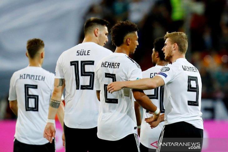 Sungguh terlalu, Jerman mencukur Estonia 8-0