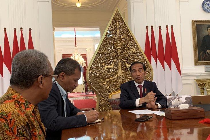 Jokowi sebut tidak ada jatah-jatahan kursi menteri