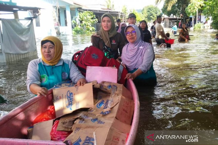 Korban banjir Samarinda mencapai 30.580 jiwa