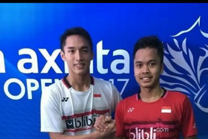 Tunggal putra Indonesia hadapi India di babak pertama IM 2020