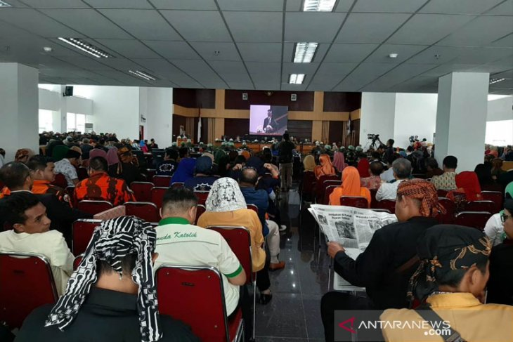 Rapat Paripurna Istimewa DPRD Kota Bogor Peringati HJB ke-537