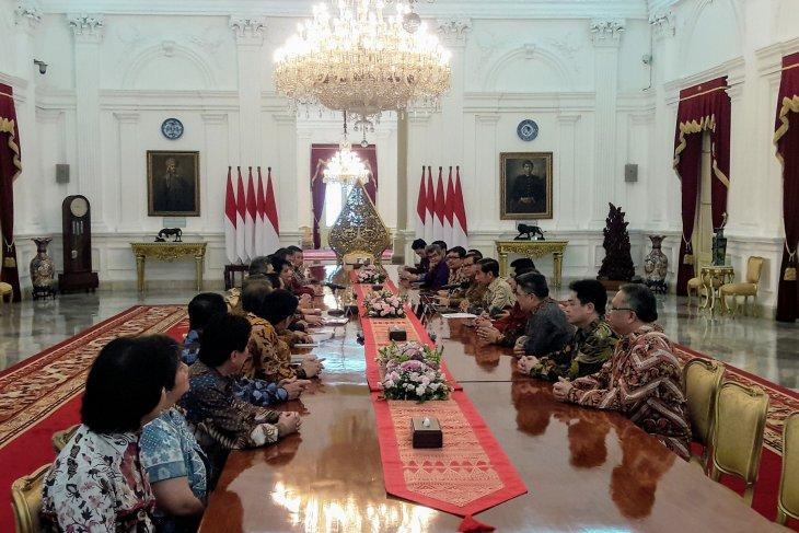 Presiden terima Apindo bahas perbaikan ekonomi