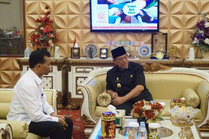 Kepala BNNP Malut temui Wali Kota Tikep bahas narkoba