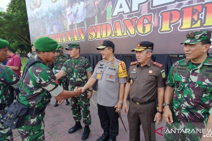 Apel persiapan pengamanan sidang sengketa Pemilu 2019 di Sumut