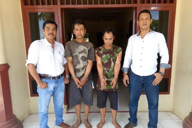Polisi ringkus dua tersangka pengedar sabu-sabu