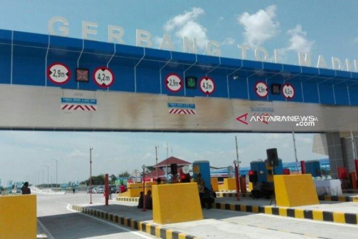 Tol Ngawi-Kertosono dilewati 352.782 kendaraan selama arus balik