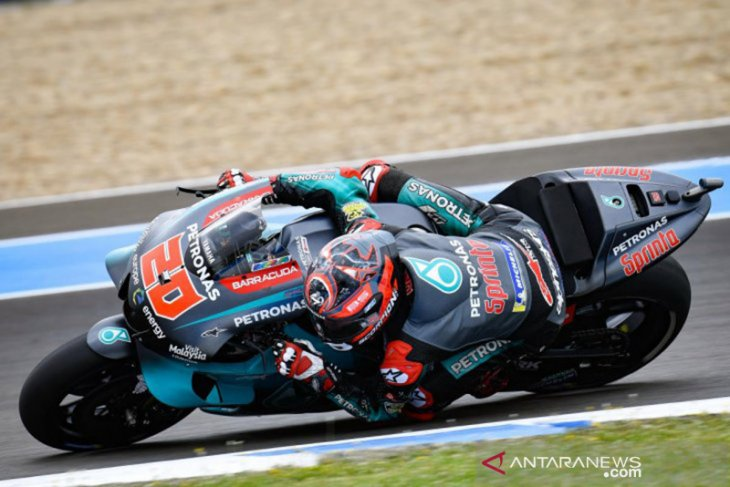 Quartararo libas Marquez untuk start terdepan