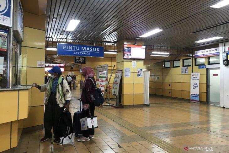 Jelang sidang di MK, tak ada lonjakan penumpang di Stasiun Gondangdia
