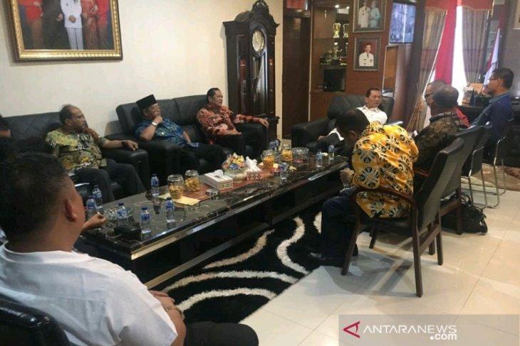 Wali Kota Padangsidimpuan temui Bupati Tapsel terkait pelepasan aset