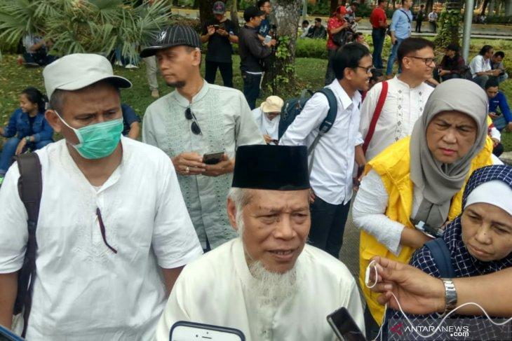 Mantan Penasihat KPK pimpin demo kawal sengketa pilpres