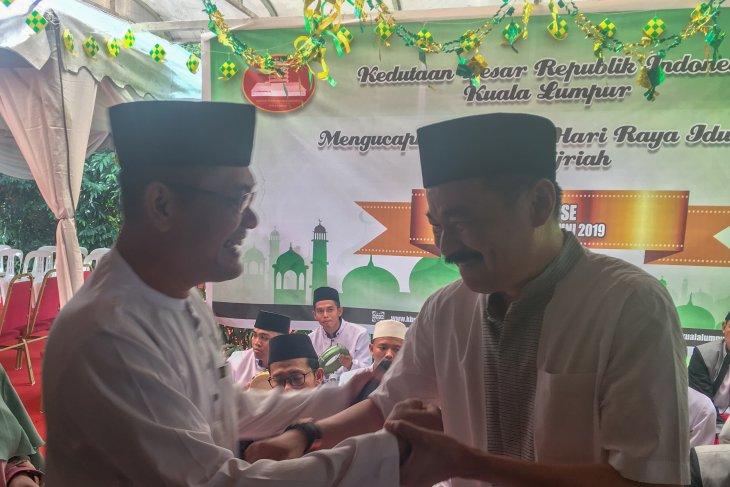 Dubes RI di Kuala Lumpur Rusdi Kirana gelar open house Lebaran