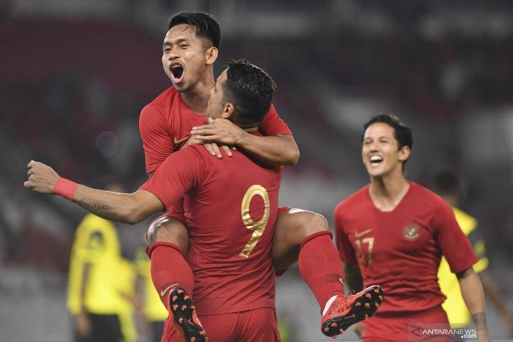 Indonesia unggul 2-0 atas Vanuatu di babak pertama