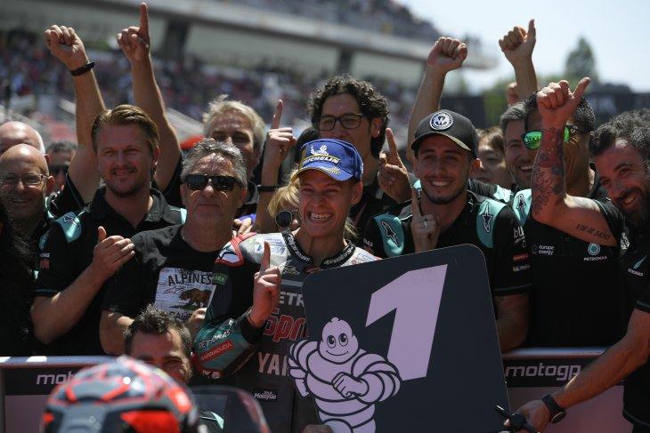 Quartararo pimpin serbuan Yamaha di GP Catalunya