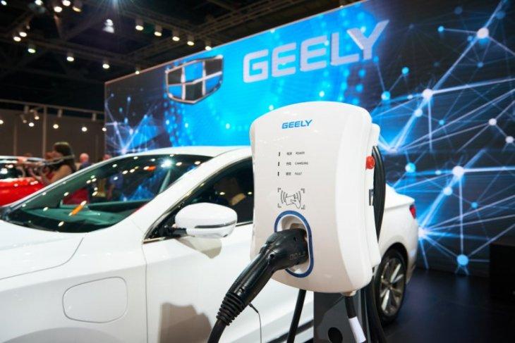 Mobil listrik Geely akan gunakan baterai dari LG