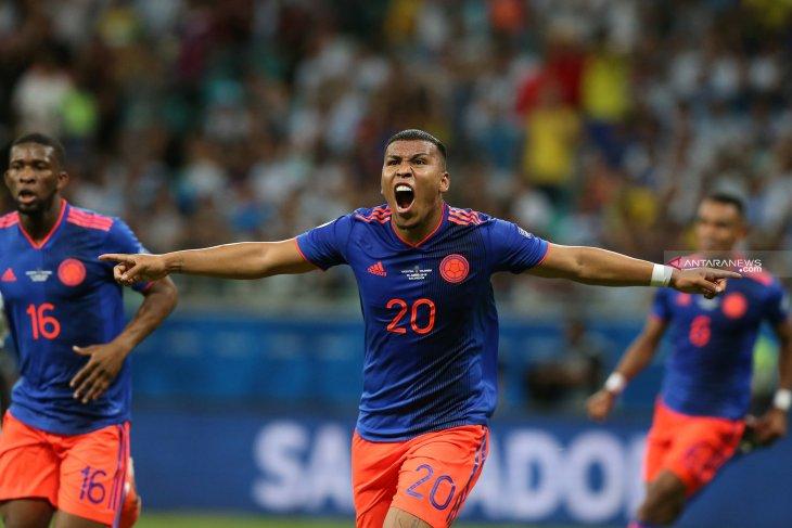 Kolombia kalahkan Argentina dengan dua gol tanpa balas