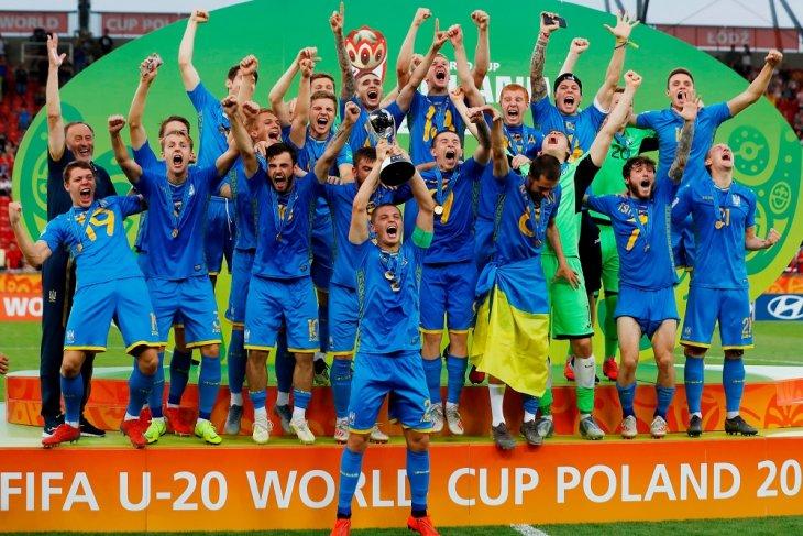 Hebat, Tim U20 Ukraina juara dunia