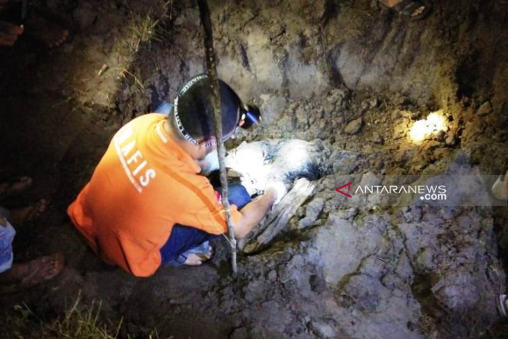 Warga temukan kerangka manusia di halaman belakang gudang Bulog Aceh Selatan