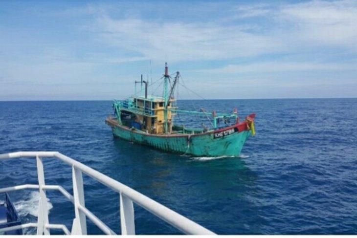 PSDKP Aceh tangkap kapal ikan berbendera Malaysia