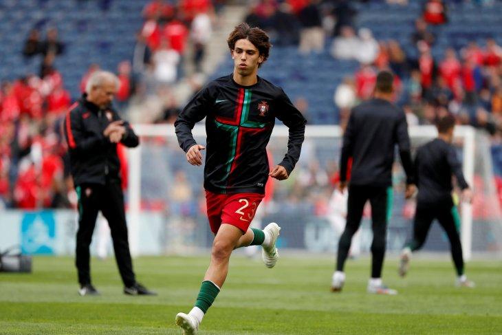 Atletico Madrid pecahkan rekor transfer klub untuk Joao Felix