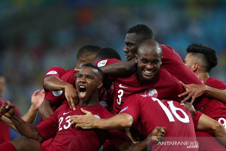 Qatar debut positif imbangi Paraguay 2-2 di Copa America
