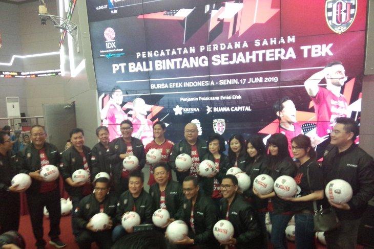Bali United tercatat di Bursa Efek Indonesia